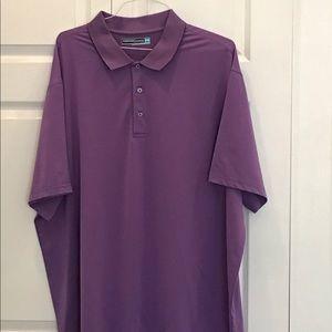 3XB Purple golf shirt